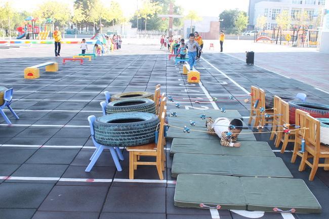 废轮胎制作幼儿体育器材